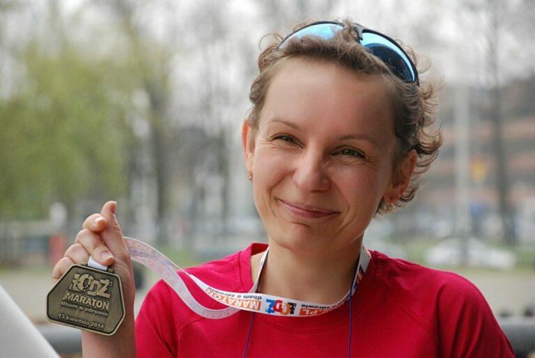 Szczęście debiutanta na przykładzie maratonu