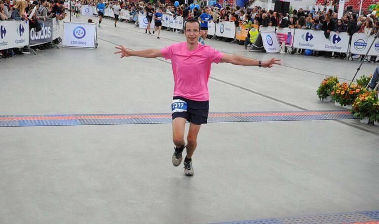 Na mecie maratonu